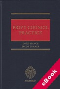 Cover of Privy Council Practice (eBook)