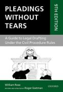 Cover of Pleadings Without Tears: A Guide to Legal Drafting Under the Civil Procedure Rules (eBook)