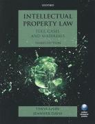 Cover of Intellectual Property Law: Text, Cases, and Materials