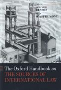 Cover of The Oxford Handbook on the Sources of International Law