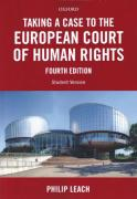 Cover of Taking a Case to the European Court of Human Rights 4th ed: Student Version