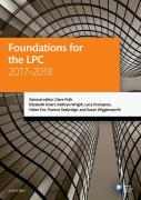Cover of LPC: Foundations for the LPC 2017-2018
