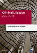 Cover of LPC: Criminal Litigation 2017-2018