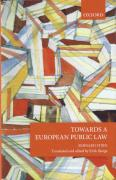 Cover of Towards a European Public Law
