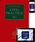 Cover of Blackstone's Civil Practice 2017 (Book and eBook Pack)