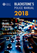 Cover of Blackstone's Police Manual 2018 Volume 3: Road Policing