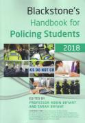 Cover of Blackstone's Handbook for Policing Students 2018