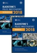 Cover of Blackstone's Police Investigators' Manual and Workbook 2018