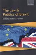 Cover of The Law and Politics of Brexit