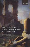 Cover of Hate Speech and Democratic Citizenship