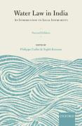 Cover of Water Law in India: An Introduction to Legal Instruments