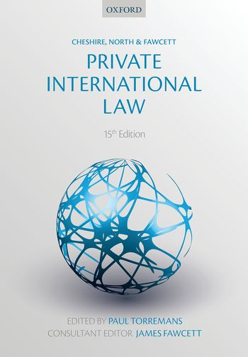 private international law cheshire north fawcett pdf