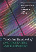 Cover of The Oxford Handbook of Law, Regulation and Technology