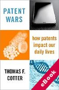 Cover of Patent Wars: How Patents Impact Our Daily Lives (eBook)