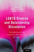 Cover of LGBTQ Divorce and Relationship Dissolution: Psychological and Legal Perspectives and Implications for Practice