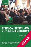 Cover of Employment Law and Human Rights (eBook)