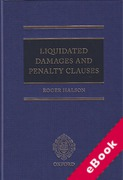 Cover of Liquidated Damages and Penalty Clauses (eBook)