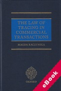 Cover of The Law of Tracing in Commercial Transactions (eBook)