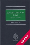 Cover of Ecclesiastical Law (eBook)