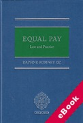 Cover of Equal Pay: Law and Practice (eBook)