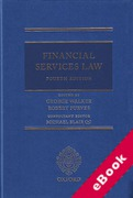 Cover of Financial Services Law (eBook)