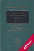 Cover of The Law of Security and Title-Based Finance (eBook)