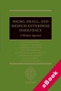 Cover of Micro, Small, and Medium Enterprise Insolvency: A Modular Approach (eBook)