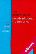 Cover of The Protection of Non-Traditional Trade Marks (eBook)