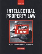 Cover of Intellectual Property Law
