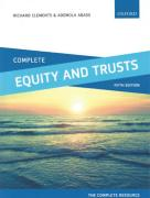 Cover of Complete Equity and Trusts: Text, Cases and Materials