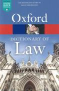 Cover of Oxford Dictionary of Law