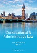 Cover of Core Text: Constitutional and Administrative Law