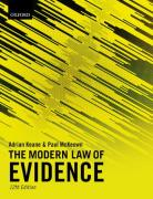 Cover of The Modern Law of Evidence