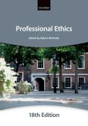 Cover of Bar Manual: Professional Ethics