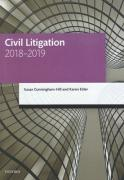 Cover of LPC: Civil Litigation 2018-2019