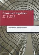 Cover of LPC: Criminal Litigation 2018-2019