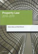 Cover of LPC: Property Law 2018-2019