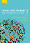 Cover of Community Interests Across International Law