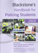 Cover of Blackstone's Handbook for Policing Students 2019