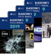 Cover of Blackstone's Police Manuals 2019: Four Volume Set