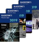Cover of Blackstone's Police Q&A: Pack 2019