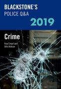 Cover of Blackstone's Police Q&A: Crime 2019