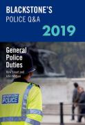 Cover of Blackstone's Police Q&A: General Police Duties 2019
