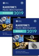 Cover of Blackstone's Police Investigators' Manual and Workbook 2019