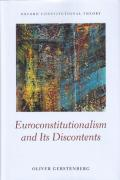 Cover of Euroconstitutionalism and its Discontents