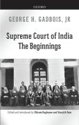 Cover of Supreme Court of India: The Beginnings
