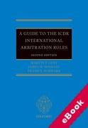 Cover of A Guide to the ICDR International Arbitration Rules (eBook)