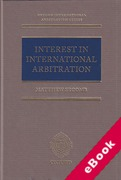 Cover of Interest in International Arbitration (eBook)