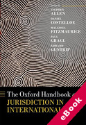 Cover of The Oxford Handbook of Jurisdiction in International Law (eBook)