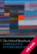 Cover of The Oxford Handbook of Comparative Environmental Law (eBook)